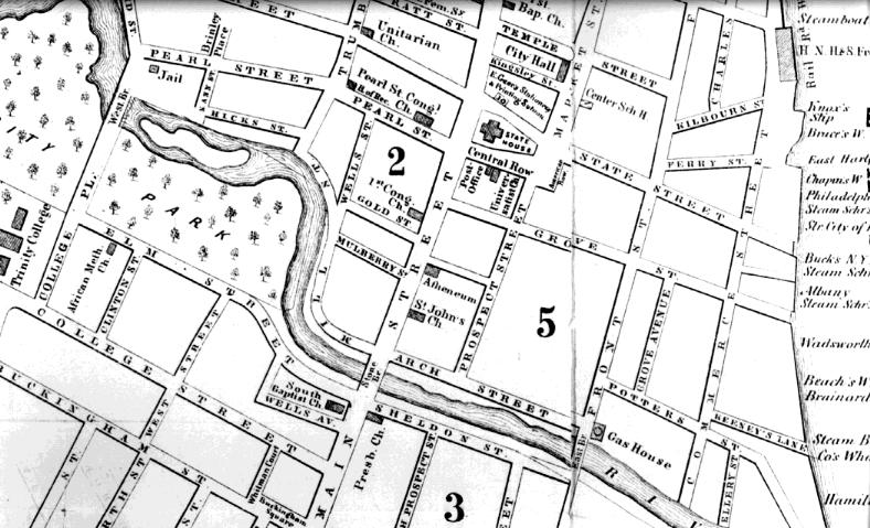 Citizens of color 1863 1890 black society after the civil war map of area of original black community in harford sciox Images
