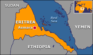 Eritrea Map Before and After