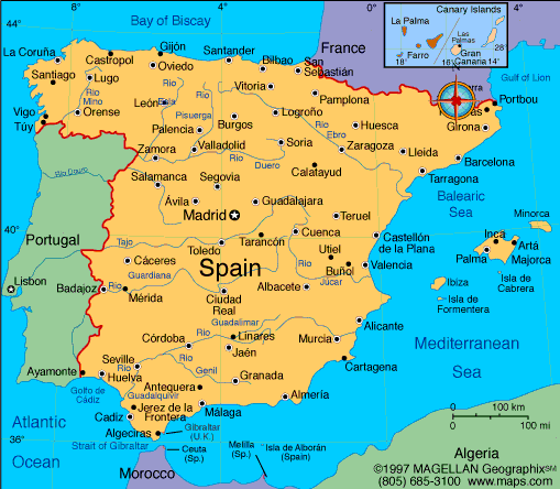 [ map of Spain ]