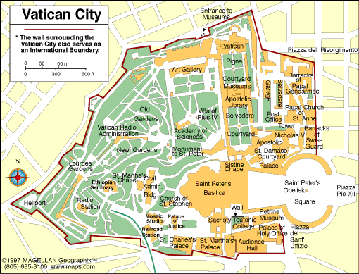 285.png Vatican City Map
